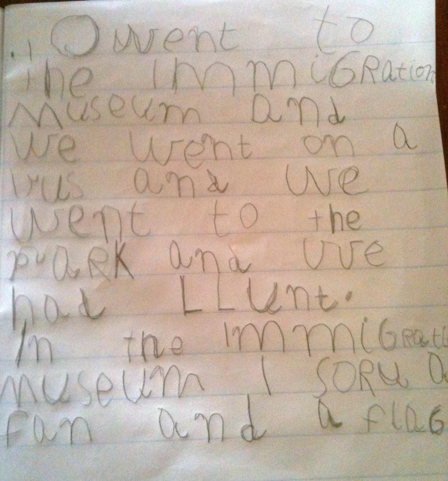 children trust me essay