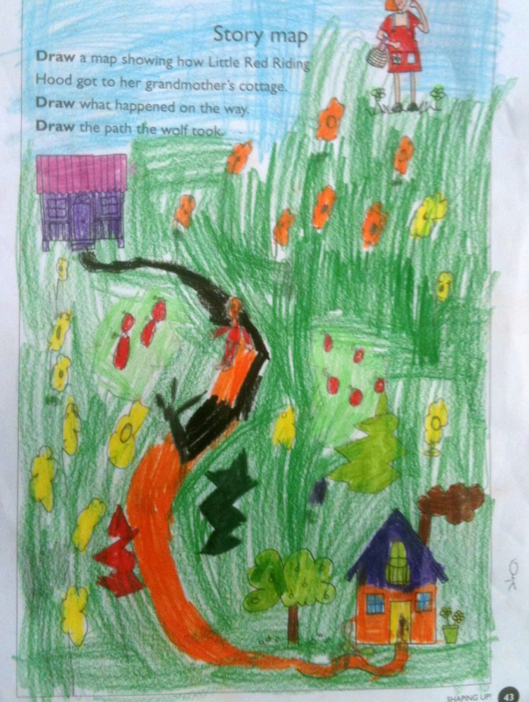 Story Maps & Comprehension - Prep (5 & 6) Year Olds (3/6)