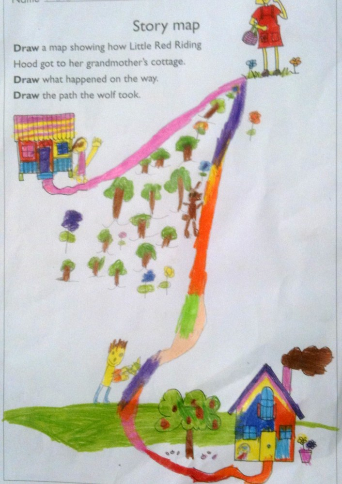 Story Maps & Comprehension - Prep (5 & 6) Year Olds (5/6)