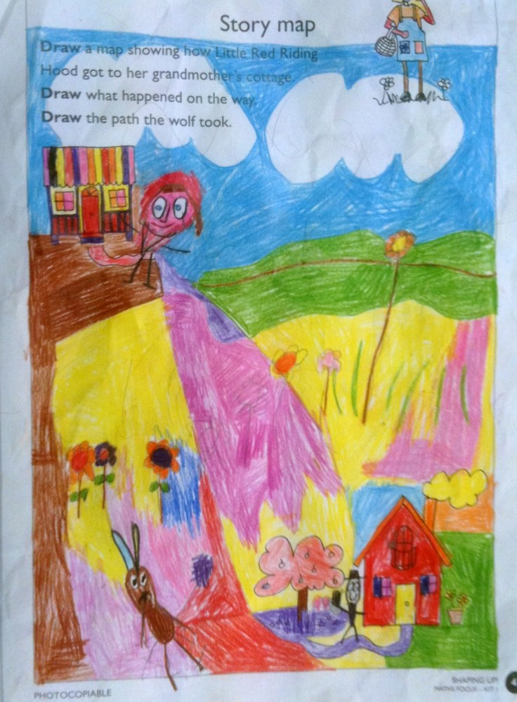 Story Maps & Comprehension - Prep (5 & 6) Year Olds (1/6)