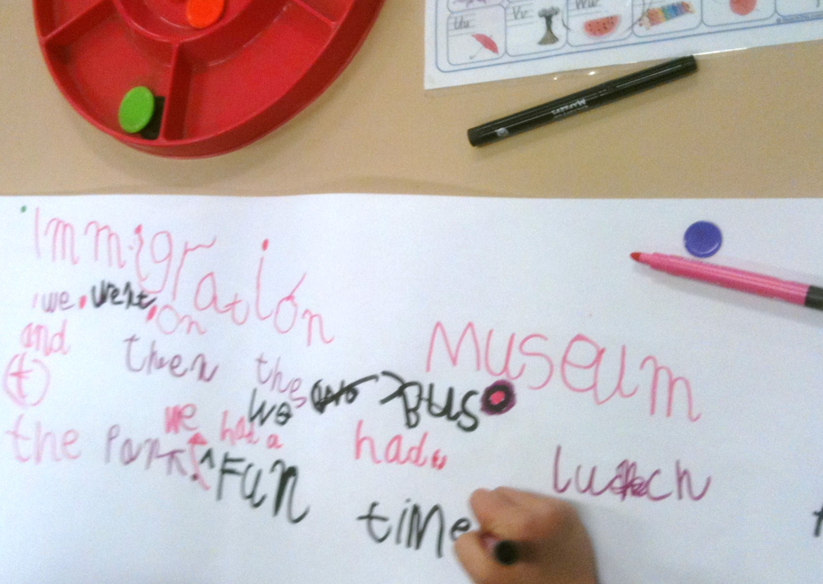 Interactive Writing in the EFL Class: A Repertoire of Tasks