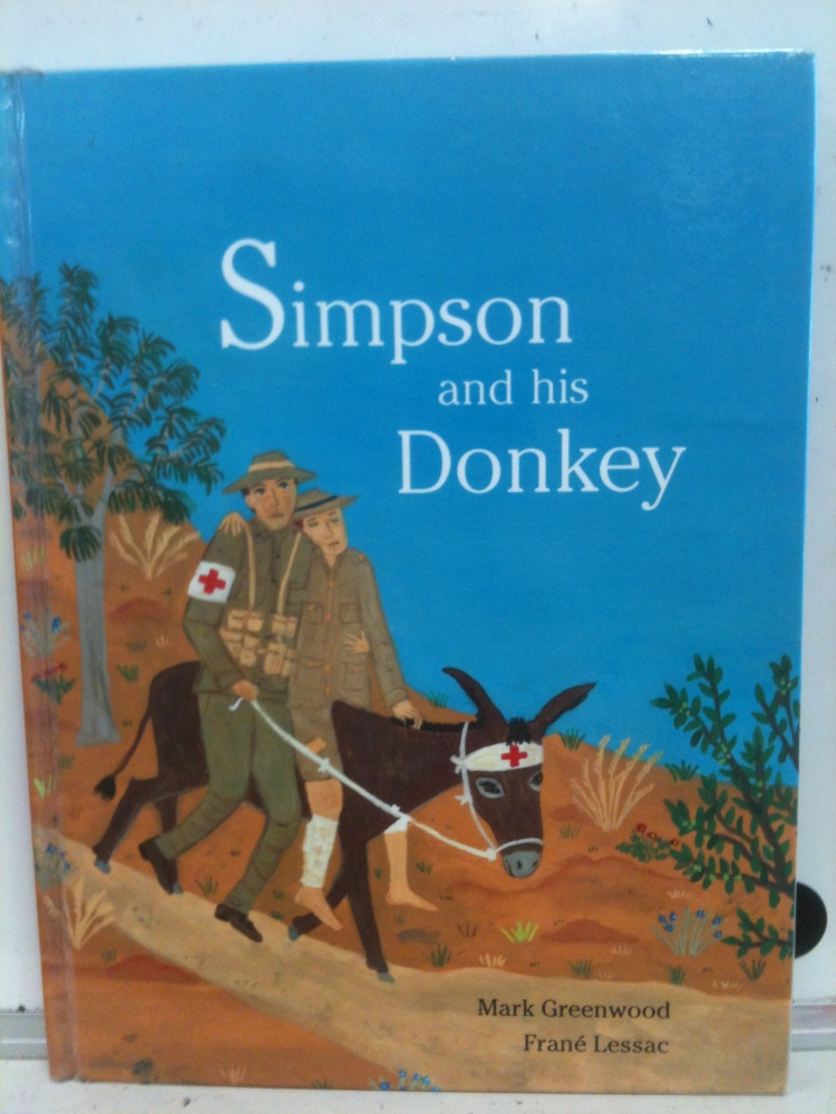 ANZAC Day 2012: PrepD children (5 Year Olds) respond to the famous story Simpson and his Donkey  (2/6)
