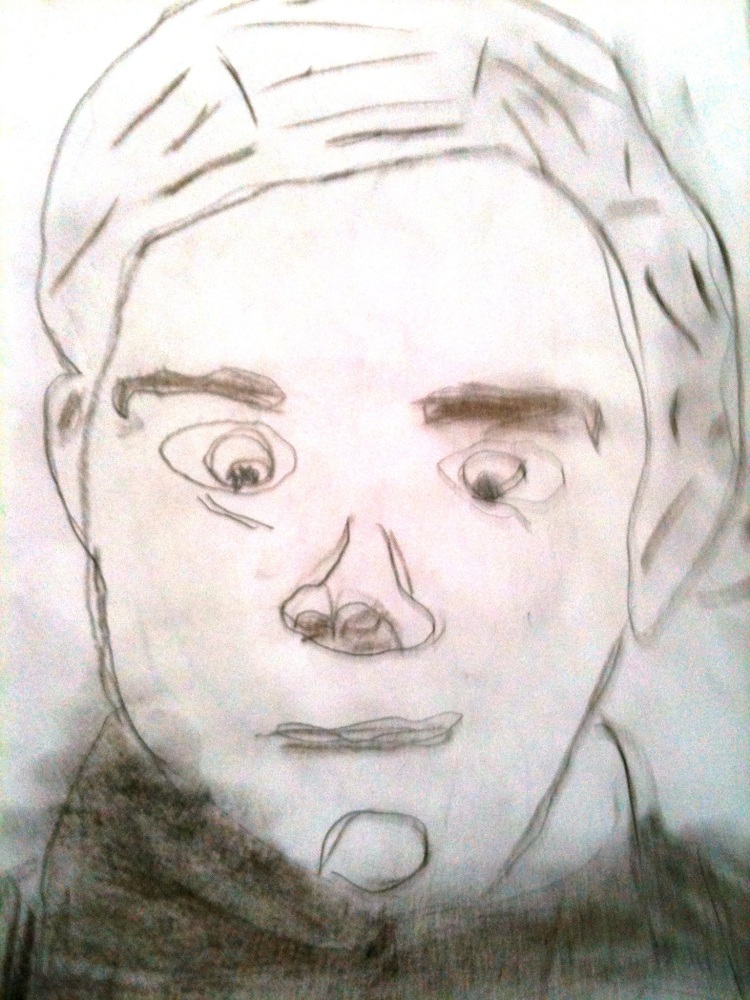 Self Portraits created by 6, 7 & a few 8 year old children in Australia (4/4)