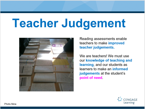 Teacher Judgement